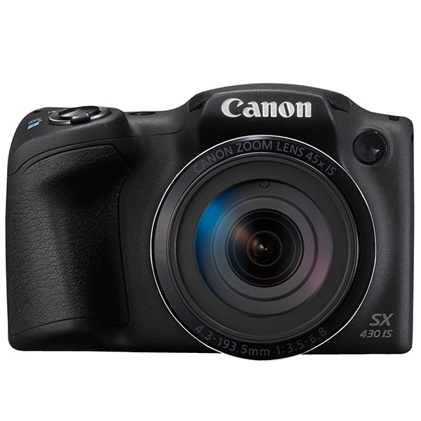 Aparat foto digital CANON PowerShot SX430 IS, 20MP, HD, Wi-Fi, NFC, negru