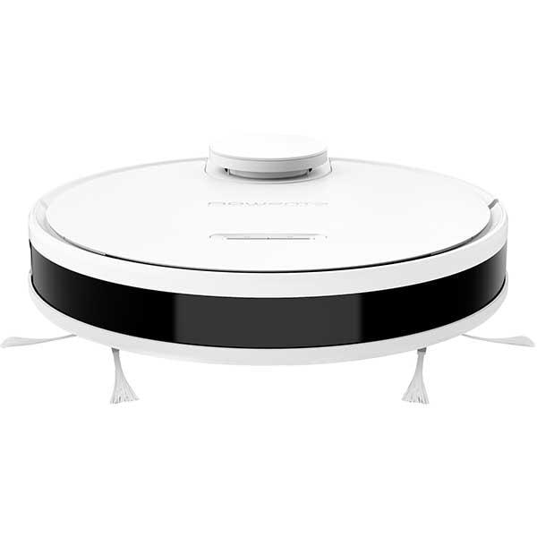 Aspirator robot ROWENTA X-Plorer Serie 95 Total Care RR7987WH, 0.5l, autonomie max 225 min, Navigatie laser, functie mop, alb