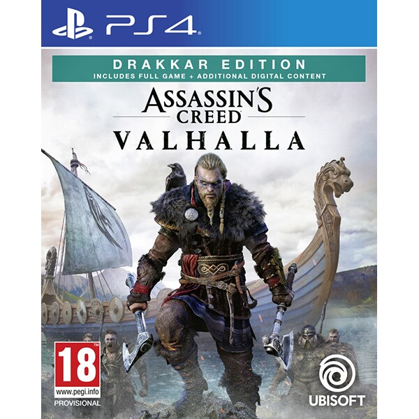 Assassin's Creed Valhalla Drakkar Edition PS4