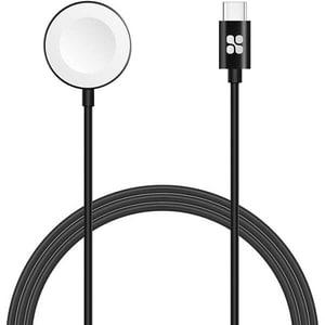 Incarcator wireless pentru Apple Watch, PROMATE AuraCord-C, negru