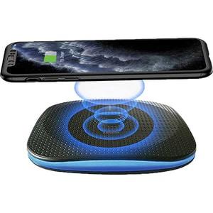 Incarcator wireless PROMATE AuraPad-4, universal, QI, negru
