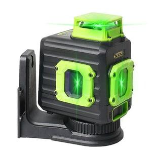 Nivela cu laser HUEPAR B21CG, raza 30m, negru-verde