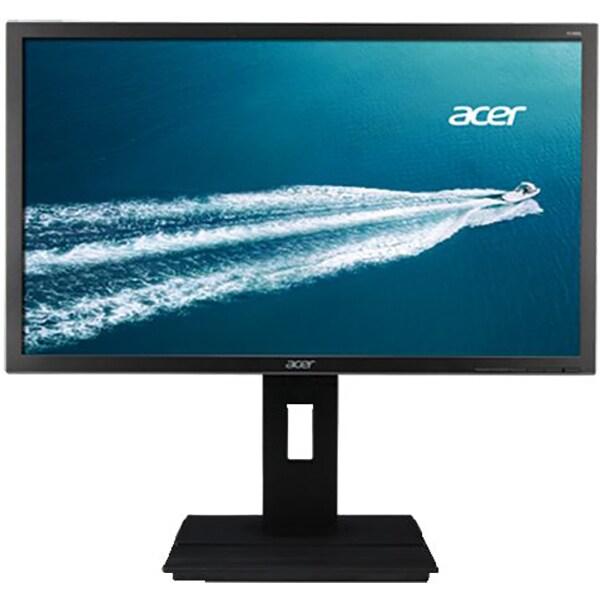 "Monitor LED TN ACER B246HLB, 24"", Full HD, 60 Hz, gri inchis"