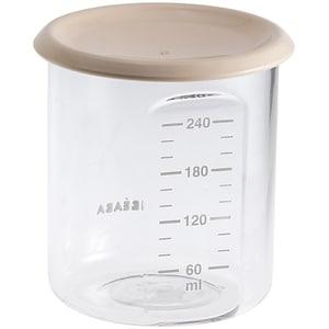 Recipient ermetic BEABA B912540, 6 luni+, 240ml, bej-transparent