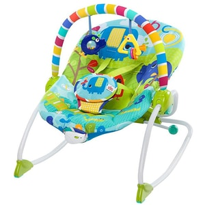 Balansoar BRIGHT STARTS Merry Sunshine Rocker 10316, 0 luni+, multicolor