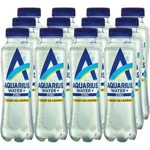Apa cu vitamine AQUARIUS Zinc&Lamaie bax 0.4L x 12 sticle