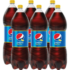 Bautura racoritoare carbogazoasa PEPSI COLA TWIST LEMON bax 2L x 6 sticle