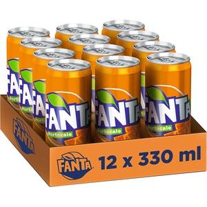 Bautura racoritoare carbogazoasa FANTA Orange bax 0.33L x 12 doze