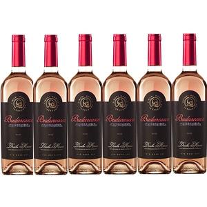 Vin rosu sec BUDUREASCA Premium Rose, 0.75L, 6 sticle