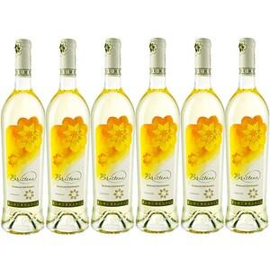 Vin alb demidulce Budureasca Bristena Tamaioasa Romaneasca, 0.75L, 6 sticle