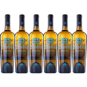 Vin alb sec Budureasca Noble White, 0.75L, 6 sticle