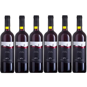 Vin rosu sec VILLA VINEA Pinot Noir Clasic, 0.75L, 6 sticle