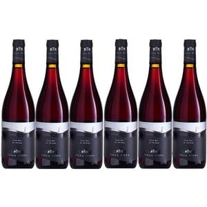 Vin rosu sec VILLA VINEA Pinot Noir Premium, 0.75L, 6 sticle