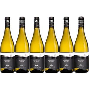 Vin alb sec Villa Vinea Sauvignon Blanc Premium, 0.75L, 6 sticle
