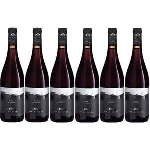Vin rosu sec VILLA VINEA Merlot Premium, 0.75L, 6 sticle