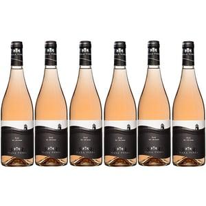 Vin rose sec VILLA VINEA Rose Pinot Noir Premium, 0.75L, 6 sticle