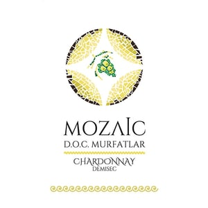 Vin alb demisec Mozaic Chardonnay, 10L, Bag in Box