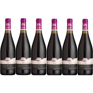Vin rosu demidulce CRAMELE RECAS Castel Huniade Merlot, 0.75L, 6 sticle