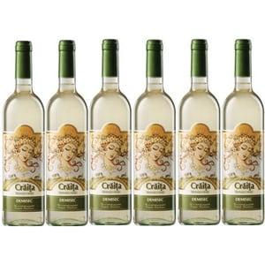 Vin alb demisc Jidvei Craita Transilvaniei, 0.75L, 6 sticle