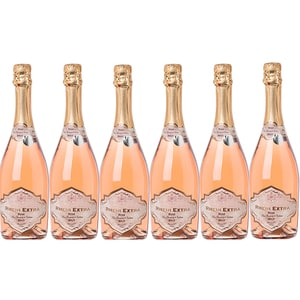 Vin spumant rose ICONIC ESTATE Rhein Extra Brut Rose, 0.75L, 6 sticle