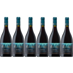 Vin rosu sec ICONIC ESTATAE Neptunus Shiraz, 0.75L, 6 sticle