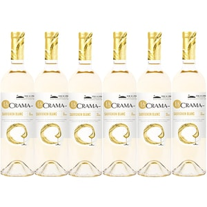 Vin alb demisec Iconic Estate La Crama Sauvignon Blanc, 0.75L, 6 sticle