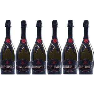 Vin spumant alb Hermeziu Thrubilo Brut Natur, 0.75L, 6 sticle