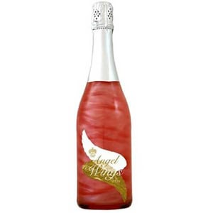Vin spumant demisec Angel Wings Silver Rose Berry, 0.75L