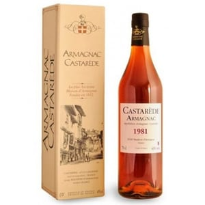 Coniac Armagnac Castarede 1981, 0.5L