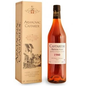 Coniac Armagnac Castarede 1980, 0.5L
