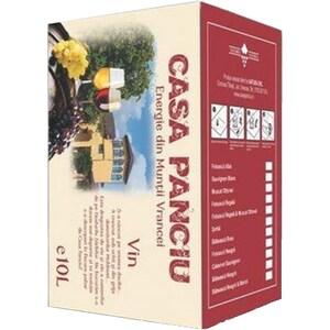 Vin rosu demisec Casa Panciu Feteasca Neagra, 10L, Bag in Box