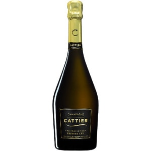 Sampanie alba Cattier Brut Blanc De Noirs Premier CRU, 0.75L