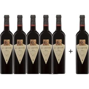 Vin rosu sec Oprisor La Cetate Shiraz, 0.75L, 5+1 sticle