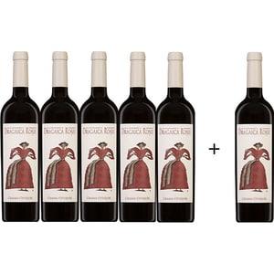 Vin rosu sec Oprisor Dragaica Rosie, 0.75L, 5+1 sticle