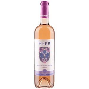 Vin rose sec Averesti Herb Busuioaca de Bohotin, 0.75L