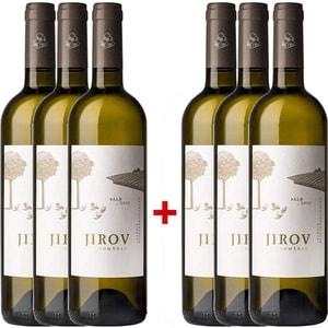 Vin alb sec Corcova Jirov, 0.75L, 3+3 sticle