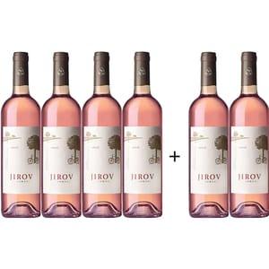 Vin rose demisec Corcova Jirov Rose, 0.75L, 6 sticle