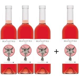 Vin rose demisec Oprisor Maiastru Rose, 0.75L, 3+1 sticle