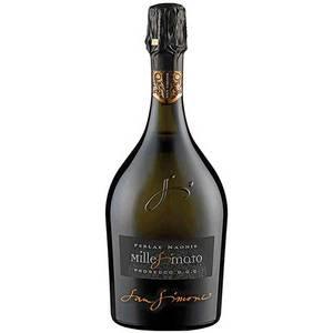 Vin spumant Prosecco alb San Simone Perlae Naonis Millesimato, 0.75L