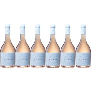 Vin rose sec RASOVA La Plage Roze, 0.75L, 6 sticle