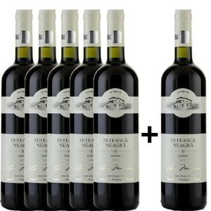 Vin rosu demisec Domeniile Tohani Feteasca Neagra, 0.75L, 5+1 stIcle