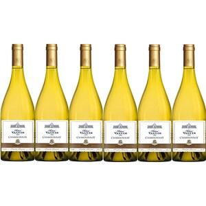 Vin alb sec Chateau Valvis Chardonnay, 0.75L, 6 sticle
