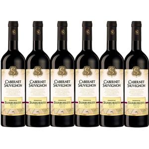 Vin rosu Domeniile Samburesti Cabernet Sauvignon, 0.75L, 6 sticle
