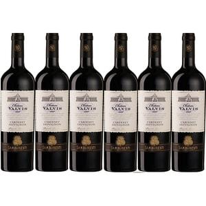 Vin rosu sec Chateau Valvis Cabernet Sauvignon, 0.75L, 6 sticle