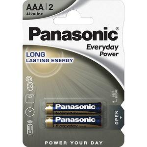 Baterii PANASONIC Everyday Power LR03/AAA, 2 bucati