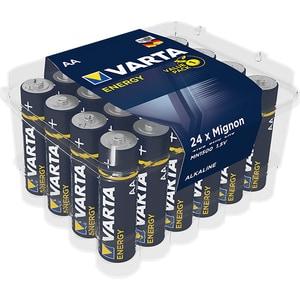 Baterii alcaline AA VARTA Energy, 24 bucati