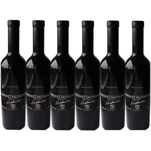 Vin rosu demidulce Vinia Traian, Cabernet Sauvignon, 0.75L, 6 sticle
