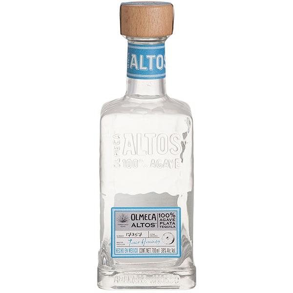 Tequila OLMECA Altos Plata, 0.7L