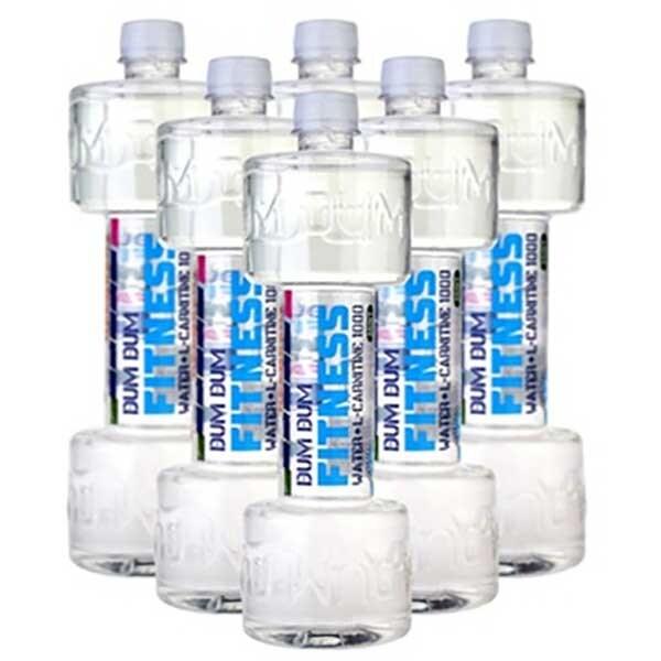 Apa cu vitamine DUM DUM Fitness L-Carnitine Mint bax 0.7L x 6 sticle