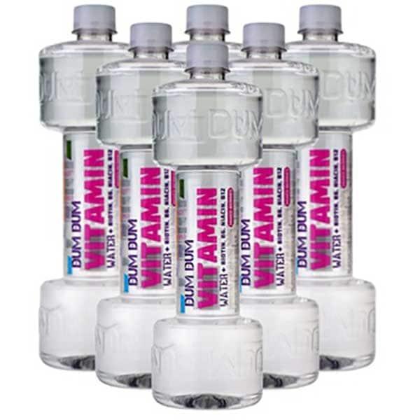 Apa cu vitamine DUM DUM Fitness Vitamin 100% RDA Mixed Berry's bax 0.7L x 6 sticle